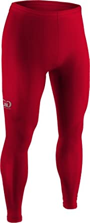 NL112 Mens and Ladies Mid-Weight Nylon Spandex Compression Ankle Length Tight by Game Gear