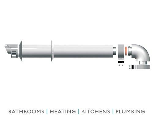 ariston-standard-horizontal-coaxial-flue-kit-1mtr-3318073