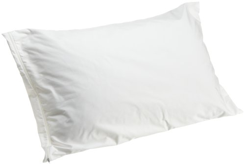 Allersoft 100-Percent Cotton Dust Mite and Allergy Control Standard Pillow Encasement