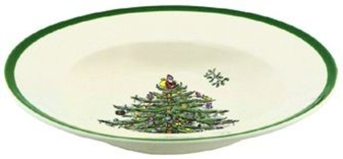Spode Christmas Tree Soup Plate, Set of 4