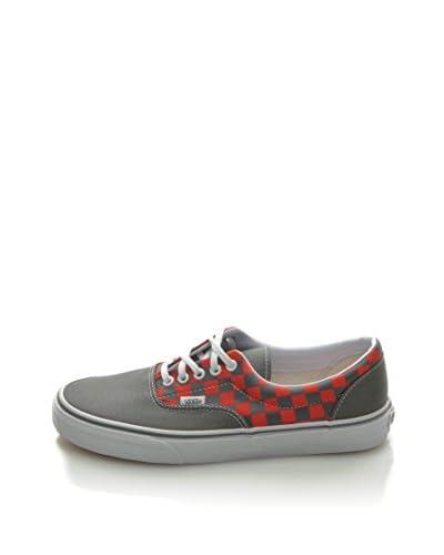 Vans Zapatillas Era Unisex Gris / Rojo