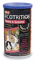 Buy 8 in 1 Ecotrition Beans & Greens Variety Blend – for Rabbits & Guinea Pigs 5.5 oz.