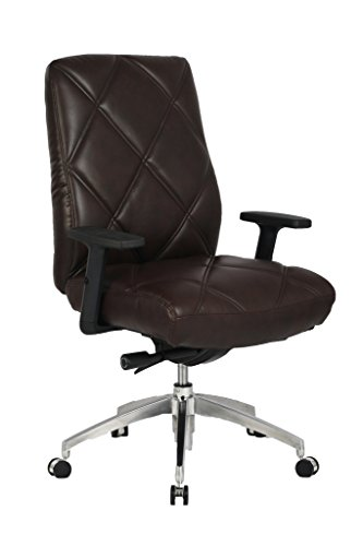viva-office-diamond-pattern-high-back-bonded-leather-office-executive-chair-adjustable-armrest-brown