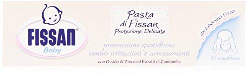 Fissan - Pasta protettiva, con Ossido di Zinco ed Estratti di Camomilla - 100 ml