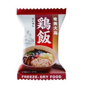 Equipment forced I Chicken Rice (freeze-dried) 5 pieces box x easy and convenient dish 2 set Amami Oshima ochazuke good luck brewing local dishes like eat and the Swish