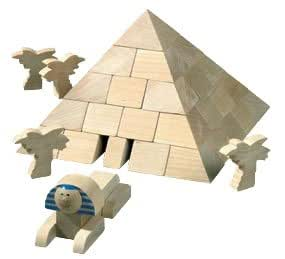 HABA Pyramid Architectural Block Set