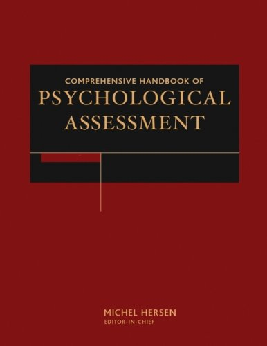 Comprehensive Handbook of Psychological Assessment, 4 Volume Set