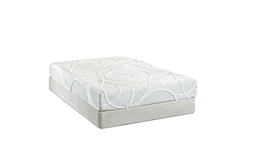 Luxury Home Enso Sleep Systems Polaris 10-Inch Memory Foam Mattress Set, King back-6088