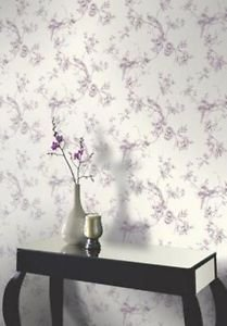 Arthouse Chinoise Wallpaper - Plum from New A-Brend