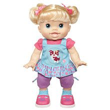 Baby Alive Baby Wanna Walk Doll - Blonde