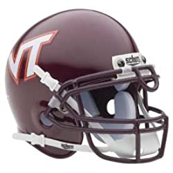 Virginia Tech Hokies Authentic Mini Helmet