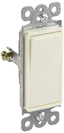 Morris Products 82103 Garbage Disposal Decorator Switch, Almond,