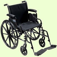 Drive Medical Cruiser III Wheelchair Lightweight 18