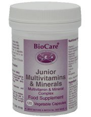 Junior Multivitamins & Mineral - Size: 120 Vegicaps