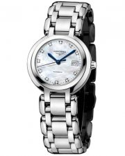 Longines PrimaLuna Automatic Steel Womens Watch MOP Dial Calendar 26.5mm L8.111.4.87.6