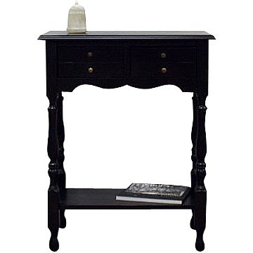 Cheap Antique Black Coventry Entry Way Console / Sofa Table (B001B06VCE)