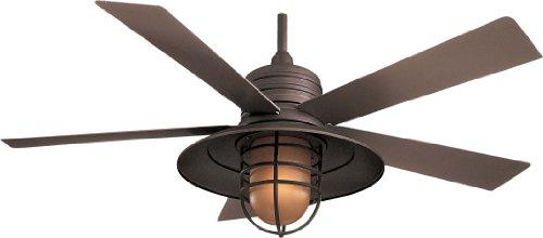 Minka Aire F582-ORB One Light Oil Rubbed Bronze Outdoor Fan
