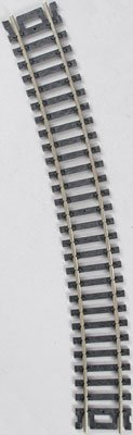 "Code 100 Nickel Silver 22"" Radius Snap-Track (6/Bx) HO Scale Atlas Trains"