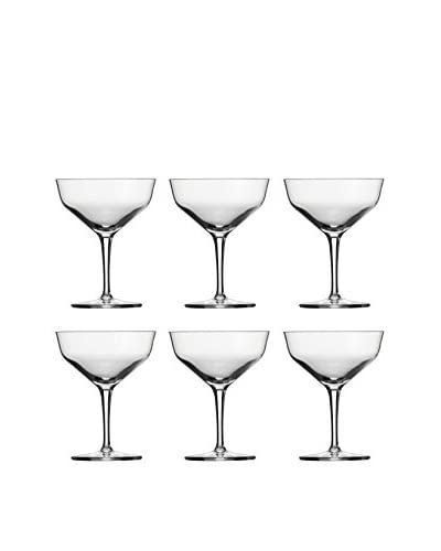 Schott Zwiesel Set of 6 Charles Schumann Contemporary Martini Glasses, Clear