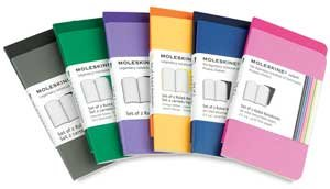 Moleskine Volant Notebooks - Blue, 5 times; 8frac14;, 