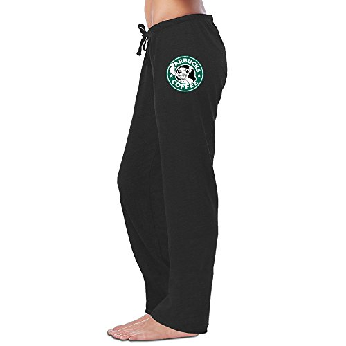 Lilo And Stitch Starbucks Coffee Young Women Cotton Sweat Jogging Pants