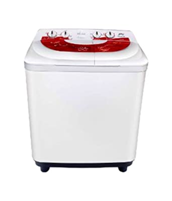 Godrej GWS6801PPL  Semi-Automatic Top-loading Washing Machine (6.8 Kg, Red)