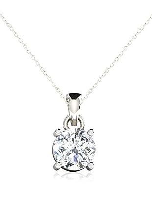 Friendly Diamonds Conjunto de cadena y colgante FDP6260W Oro Blanco