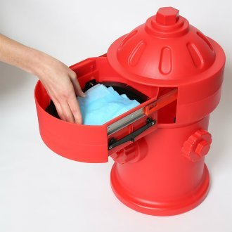 Puppy Pad Wizard Puppy Litter/Training Trash Can, Red (Dog Trash Can compare prices)