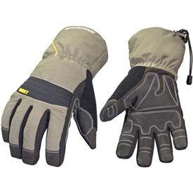 Youngstown Glove 11-3460-60-XXL Waterproof Winter XT 200 gram Thinsulate Waterproof Glove, Gray and Black, 2X-Large