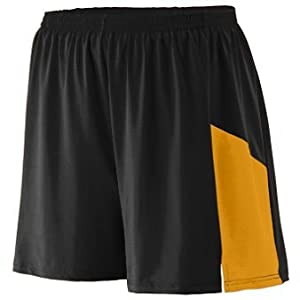 Sprint Short Adult - Black Gold - X-LARGE by Augusta
