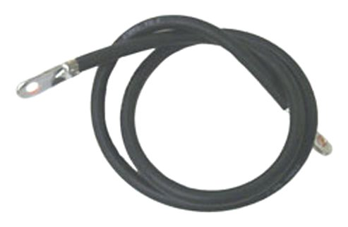 Sierra International BC88533 2' Black Marine 4 Gauge Battery Cable