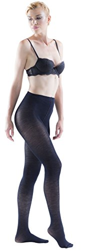 Trasparenze Gennifer 70% Merino Wool Tights, Soft (5 Maxi, Navy Blue) (Womens Extra Large Tights compare prices)