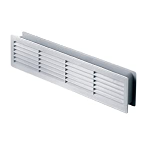 Door Air Vent Grille 460x135mm Sided White Ventilation Cover High Quality