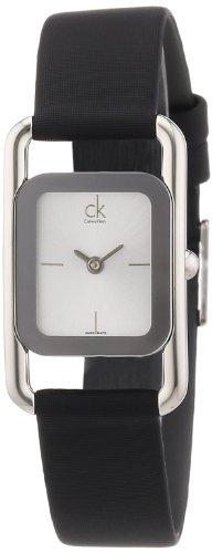 Calvin Klein K1I23526 - Reloj de mujer de cuarzo, correa de piel color plata
