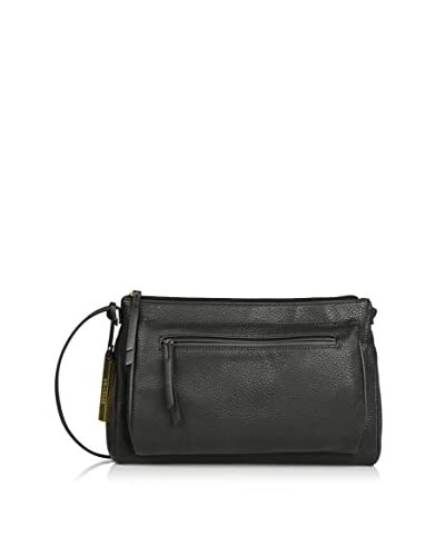 Kenneth Cole REACTION Women's Pied Piper Crossbody, Black