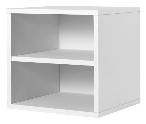 Foremost 327301 Modular Shelf Cube Storage System, White (White Storage Shelves compare prices)