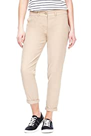 Petite Cotton Rich Turn Up Hem Chinos