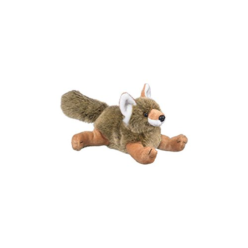 "8"" Coyote Cub Plush Stuffed Animal Toy"