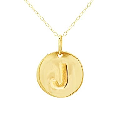 Duragold 14k gold circle disc initial pendant necklace reviews duragold 14k gold circle disc initial pendant necklace reviews aloadofball Images
