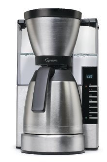 Capresso MT900 10-Cup Rapid Brew Coffee Maker w/ Thermal Carafe - Coffee Pigs