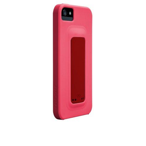 Case-Mate 日本正規品 iPhone5 Snap Case, Lipstick Pink (7424c) / Flame Red (199c) スナップ ケース, リップスティック ピンク/フレームレッド CM022504 【スナップ・スタンド機能つき】