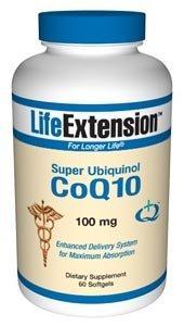 Life Extension Super Ubiquinol CoQ10 100 mg, 60 softgels ( Multi-Pack)