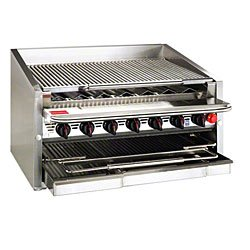 "Magikitch-N Natural Gas 36"" Radiant Charbroiler"