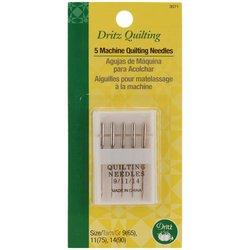 Dritz Machine Quilting Needles Size 9/11/14