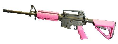 "AR-15 ""Kitty Pink"" furniture kit, fits MIL SPEC tube size"
