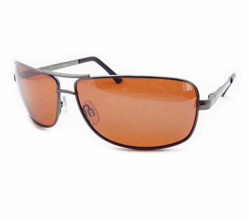 Polarized Aviator Sunglasses with premium TAC Polarized High Definition HD lenses and durable high nickel metal frames. Free Microfiber Cleaning Case Included.