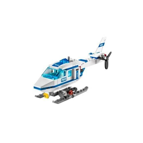 LEGO City Police Helicopter  7741  94 Pieces Toys  amp  GamesHelicopter Police Games
