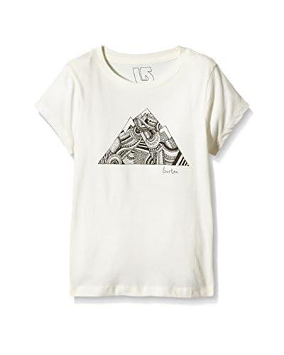 Burton Camiseta Manga Corta Peak Blanco