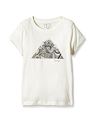Burton Camiseta Manga Corta Peak (Blanco)