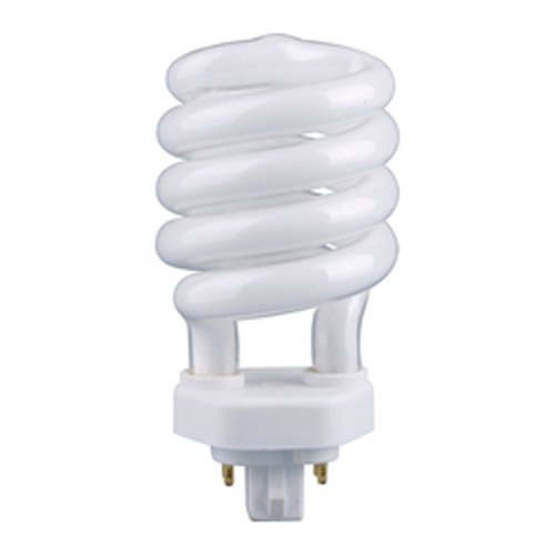 13 Watt Compact Fluorescent Spiral Light Bulb / 60 Watt Equivalent / GX24q-1 Base